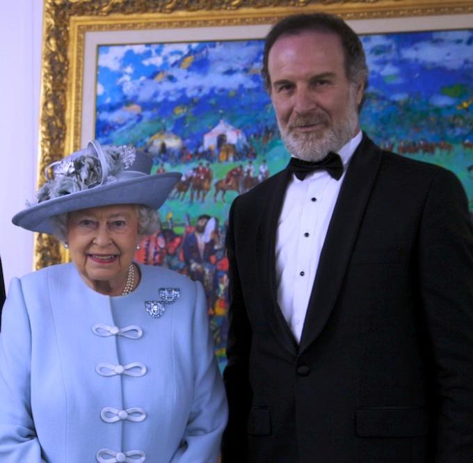 Картина о Карабахе висит в Виндзорском замке королевы Великобритании