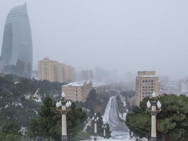 В Азербайджан придут холода из Турции и России