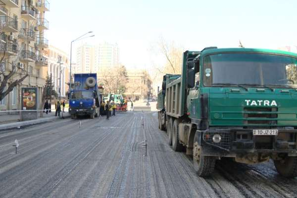 В направлении «Шамахинки» ограничивается движение транспорта