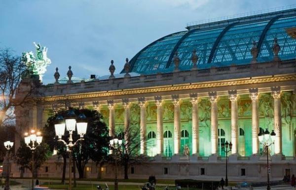 Картина азербайджанской художницы в легендарном выставочном зале Парижа