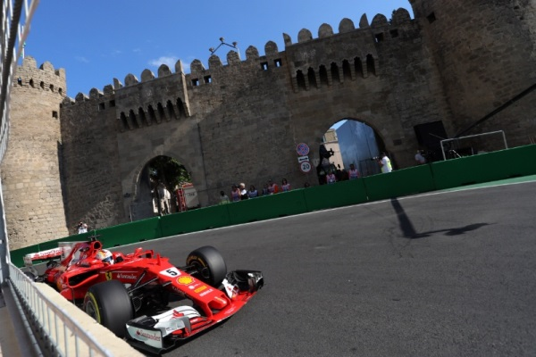 Пилот Формулы-1 Себастьян Феттель извинился за действия в Баку