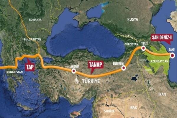 Израиль присоединяется к TANAP