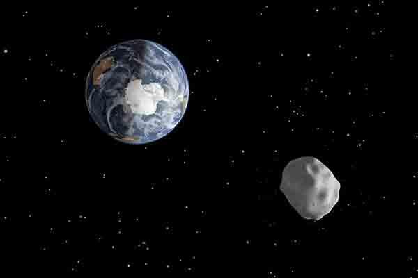 К Земле летит крупнейший в истории астероид