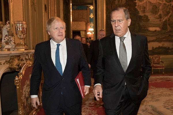 Глава МИД Британии Борис Джонсон наконец-то прибыл в Москву