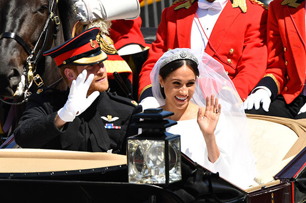 Royal Wedding: Принц Гарри и Меган Маркл поженились