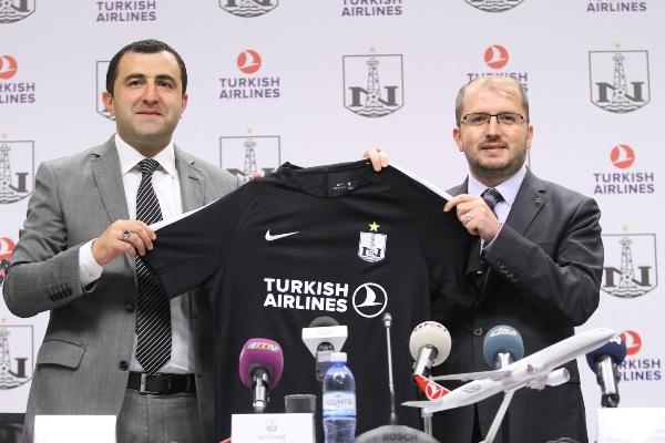 «Нефтчи» подписал договор с Turkish Airlines о сотрудничестве