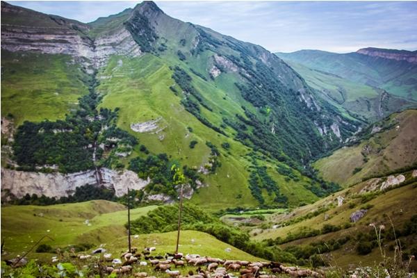 Лаза – красивейшее горное село Азербайджана!