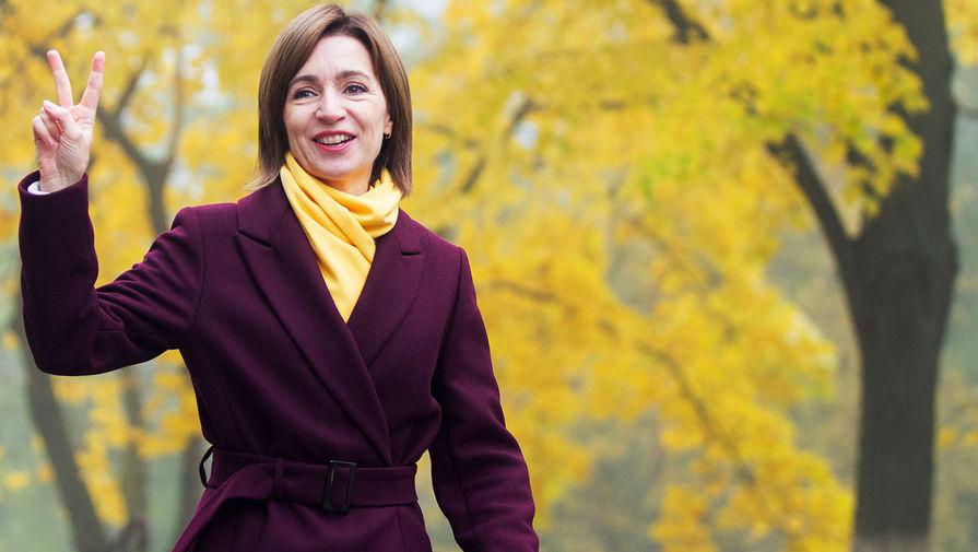 Майя Санду одолела Додона на президентских выборах Молдовы