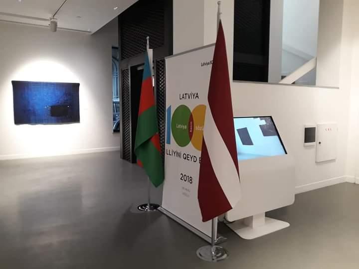 Открытие выставки «All in two» в Баку